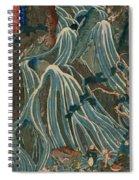 The Kirifuri Falls One Of The Three Waterfalls 1847 Spiral Notebook
