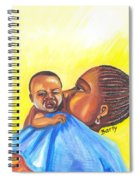 The Kiss Of A Mother In Senegal Spiral Notebook