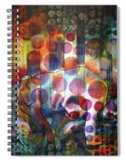 The Kiss - Woods And Sea Spiral Notebook