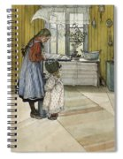 The Kitchen. From A Home Spiral Notebook
