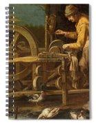 The Knife-grinder Spiral Notebook
