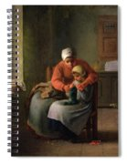 The Knitting Lesson Spiral Notebook