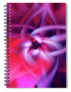 The Knot Fiber 0610 Spiral Notebook