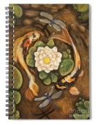 The Koi Spiral Notebook