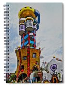 The Kuchlbauer Tower Spiral Notebook