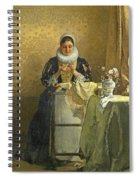 The Lace Maker  Spiral Notebook
