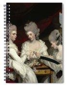 The Ladies Waldegrave Spiral Notebook