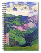 The Lady Of Isenfluh Spiral Notebook