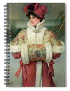The Lady Of The Snows Spiral Notebook