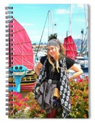 The Lady Pirate Spiral Notebook
