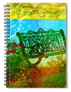The Lakeview Bench Spiral Notebook