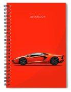 The Lamborghini Aventador Spiral Notebook