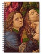 The Lamentation Of Christ Spiral Notebook
