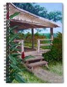 The Lanai Spiral Notebook