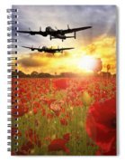 The Lancasters Spiral Notebook
