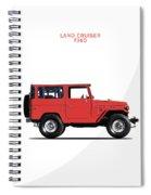 The Land Cruiser Fj40 Spiral Notebook