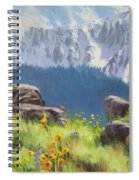 The Land Of Chief Joseph Spiral Notebook