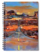The Land Of Rock Towers Spiral Notebook