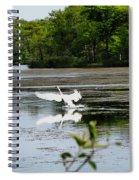 The Landing Spiral Notebook