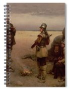 The Landing Of The Pilgrim Fathers Spiral Notebook