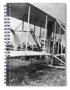 The Langley Airplane Spiral Notebook