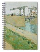 The Langlois Bridge Spiral Notebook