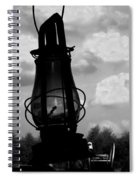 The Lantern On The Trail Spiral Notebook