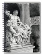 The Laocoon Group Spiral Notebook