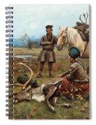 The Laplander Camp At Gleen Spiral Notebook