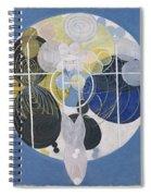 The Large Figure Paintings  No  5 Group 3  Hilma Af Klint 1907 Spiral Notebook