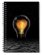 The Last Bright Light Spiral Notebook
