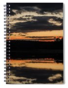 The Last Glow Spiral Notebook
