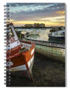 The Last Of A Dying Breed Trocadero Pipe Cadiz Spain Spiral Notebook