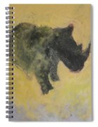 The Last Rhino Spiral Notebook