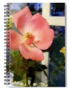 The Last Rose Of Summer Spiral Notebook