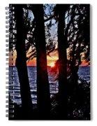 The Last Sun Spiral Notebook