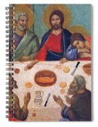 The Last Supper Fragment 1311 Spiral Notebook