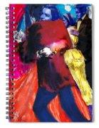 The Last Waltz Spiral Notebook