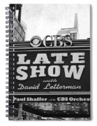The Late Show Spiral Notebook