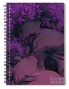 The Lavender Forest 3 Spiral Notebook