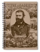 The Leader And His Battles - General Grant Spiral Notebook