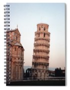 The Leaning Tower Of Pisa Spiral Notebook