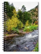 The Leaves Of Fall Spiral Notebook