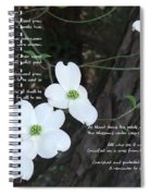 The Legend Of The Dogwood Spiral Notebook