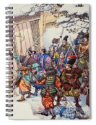 The Legend Of The Forty-seven Ronin Spiral Notebook