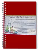 The Legend Of The Petrifying Springs Spiral Notebook