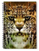 The Leopard Of The Temple  Spiral Notebook