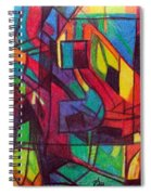 The Letter Nun Spiral Notebook