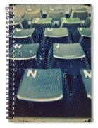The Letters Spiral Notebook
