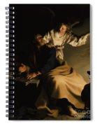 The Liberation Of Saint Peter Spiral Notebook